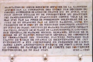 Inscription 1743-1943