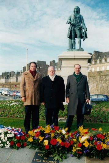 Les 3 Fondateurs de l'AAMLB 11.02.1999