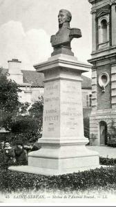 Statue de Saint-Servan