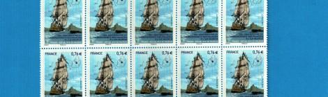 Le timbre du Tricentenaire